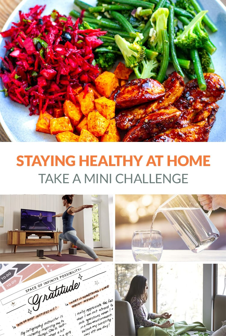 Staying Healthy While At Home
