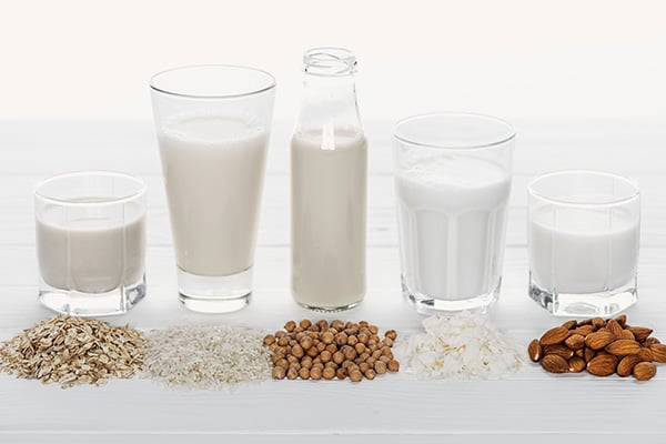 Best dairy-free milk alternatives
