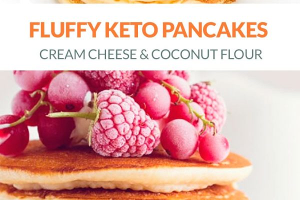 Fluffy Keto Pancakes With Coconut Flour