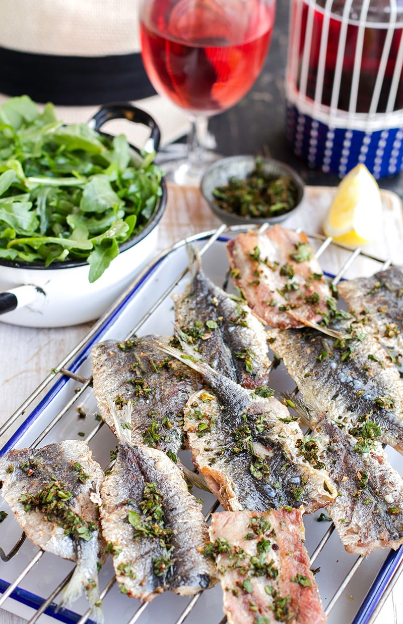 Grilled Sardines from Eat Drink Paleo Cookbook