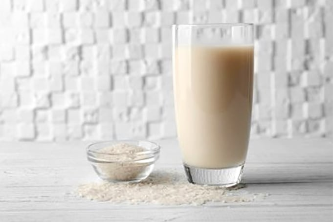 Rice milk calories nutrition