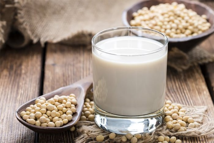 Soy milk calories nutrition