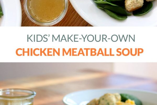 Immune-Boosting Chicken Meatball Soup For Kids