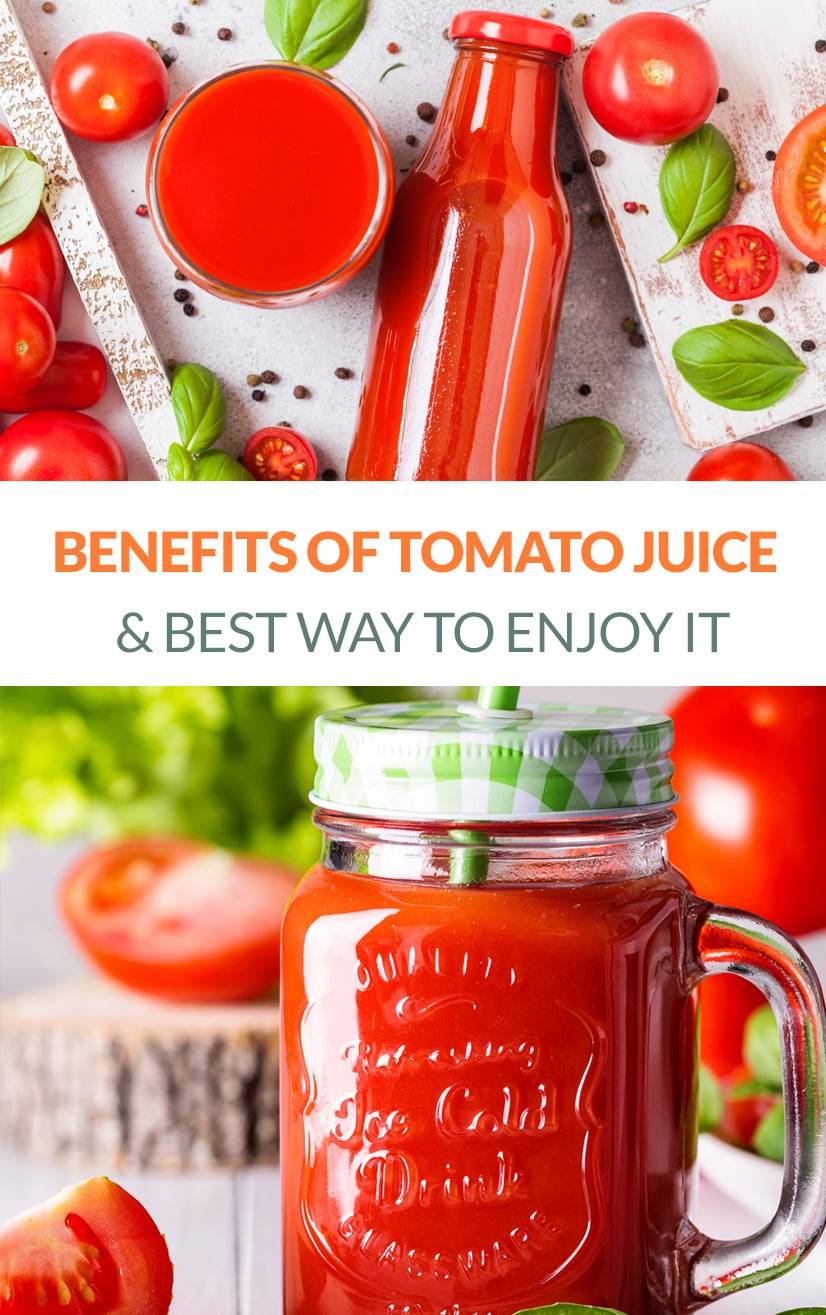 Tomato Juice Nutrition & Benefits & How to Enjoy It