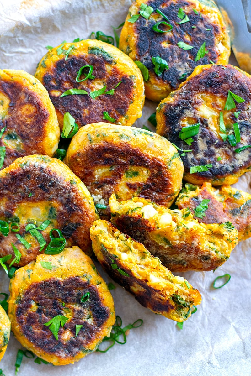 Veggie Patties With Kale & Sweet Potatoes (Gluten-Free, Paleo-Friendly)