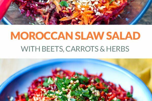 Moroccan Carrot & Beet Salad (Vegan, Paleo, Whole30)