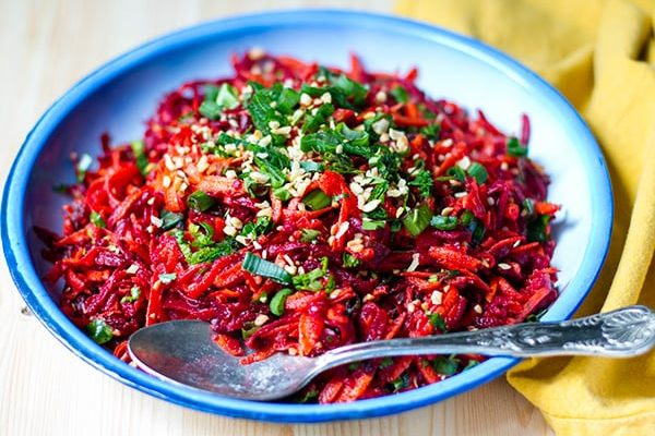 Moroccan Carrot Salad With Beets