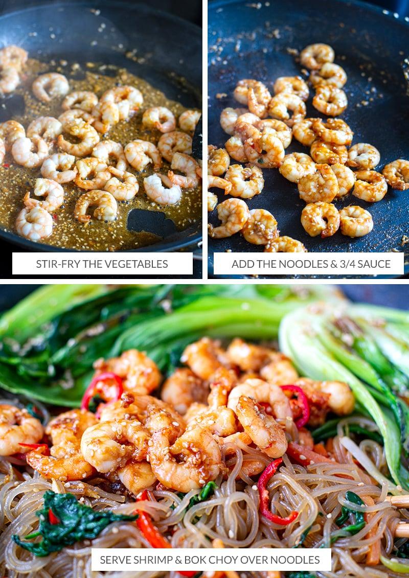 How to cook sticky sesame prawns