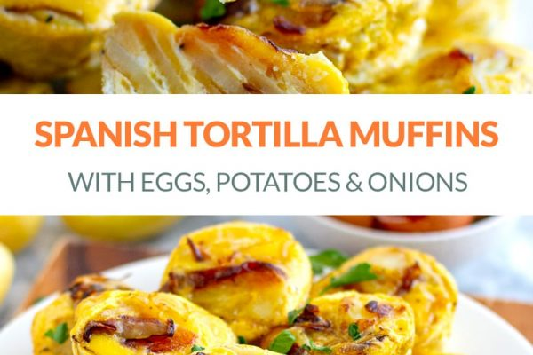 Mini Spanish Tortilla Egg Muffins