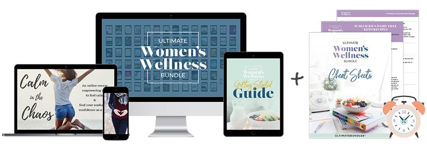 Women's Wellness Bundle Top Banner