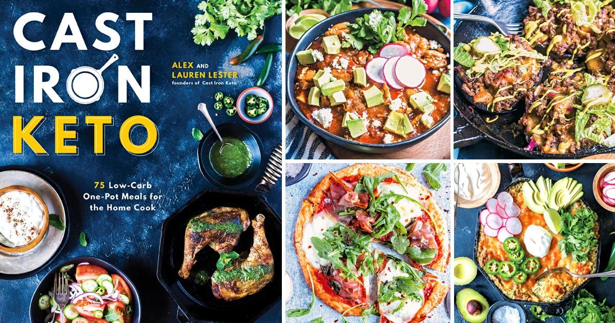 Cast Iron Keto cookbook review image of recipes