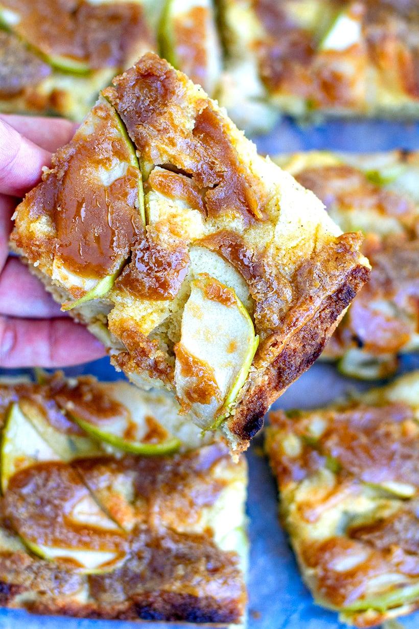 Low-Carb Gluten-Free Apple Pie Slice