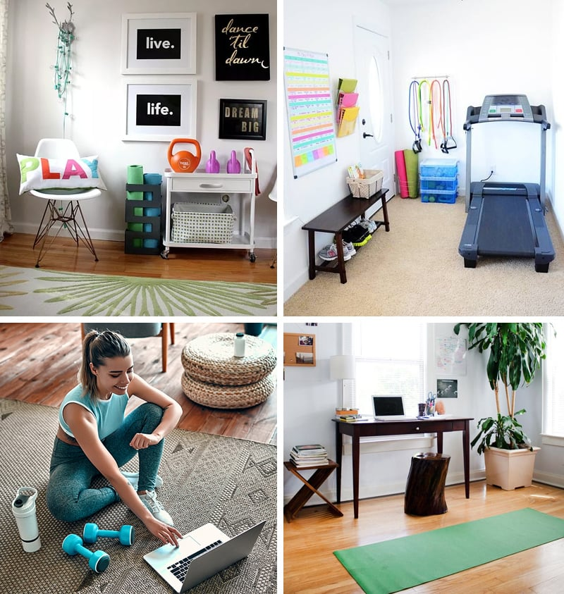 Home gym inspiration for smaller spaces