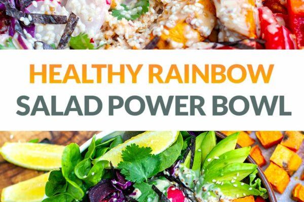 Rainbow Salad Power Bowl