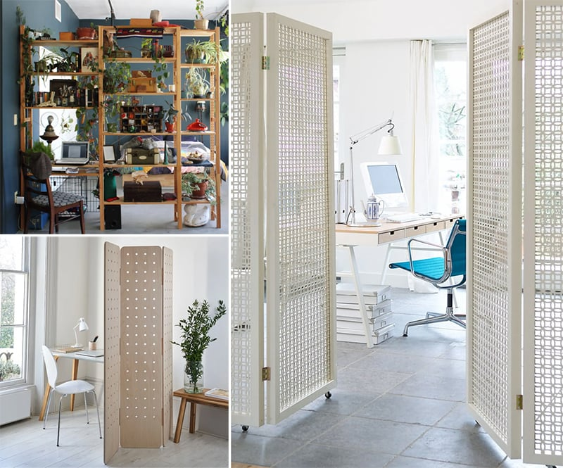 Room dividers for a home office ideas