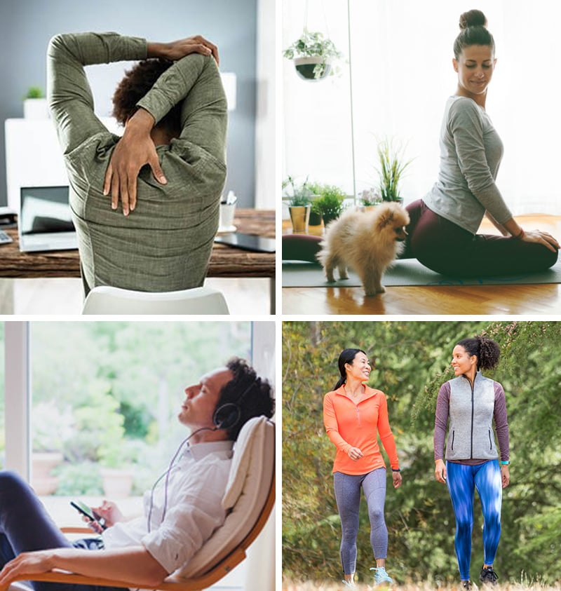 Healthy break ideas for working from home