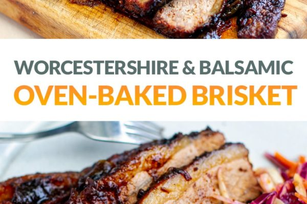 Slow-Roasted Beef Brisket In The Oven With Caramelised Reduction