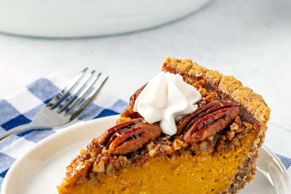 Gluten-Free Pecan Pumpkin Pie Recipe (Paleo-Friendly)
