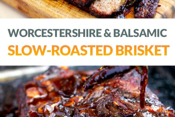 Oven-Roasted Beef Brisket With Caramelised Reduction