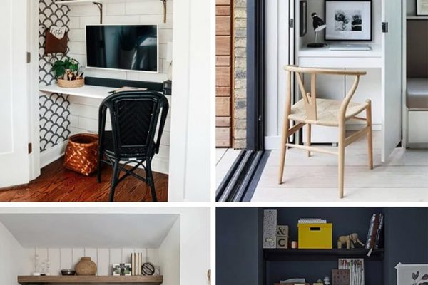 How To Create A Work-From-Home Office (Small Spaces & Other Ideas)