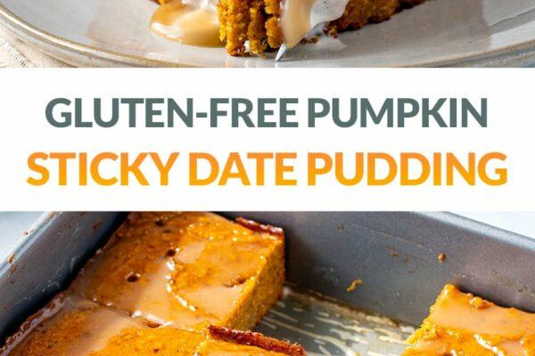 Pumpkin Sticky Date Pudding Recipe (Gluten-Free, Dairy-Free)