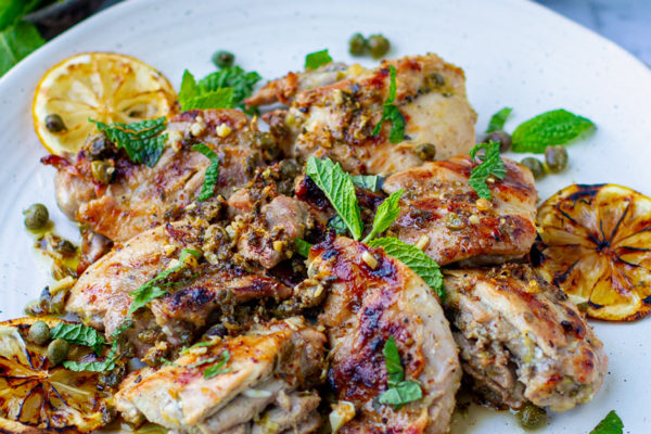 Grilled Healthy Chicken Piccata Recipe