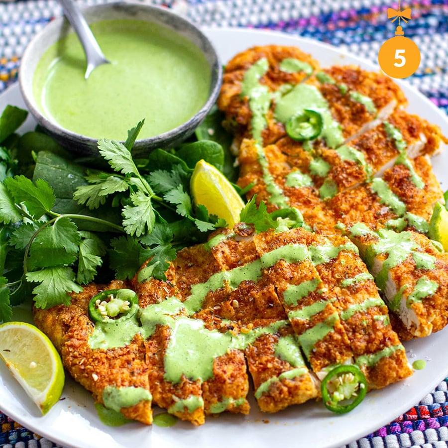 Mexican Chicken Schnitzel (Paleo, Whole30, Gluten-Free)