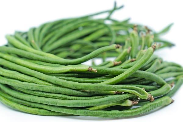 Chinese long beans or runner beans