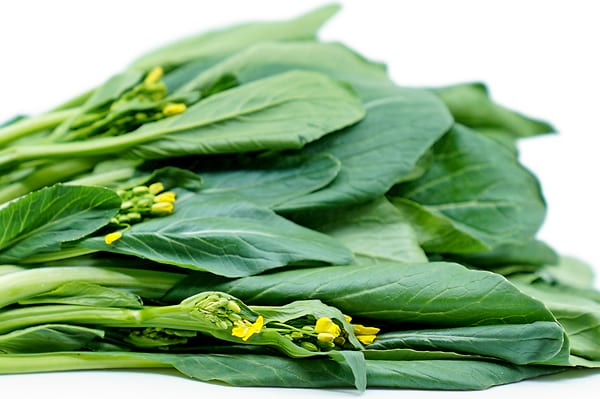 What is Choy sum / Yu Choy (morning glory on the menus)?