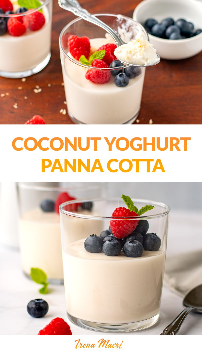 Coconut Panna Cotta (Low-Carb, Dairy-Free)