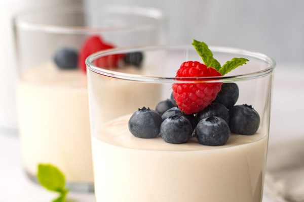 Coconut Vanilla Panna Cotta (Low-Carb, Dairy-Free)