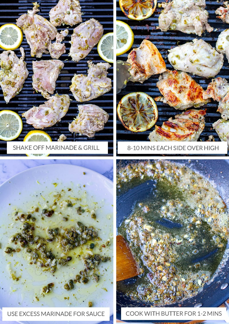 How to make grilled chicken piccata recipe