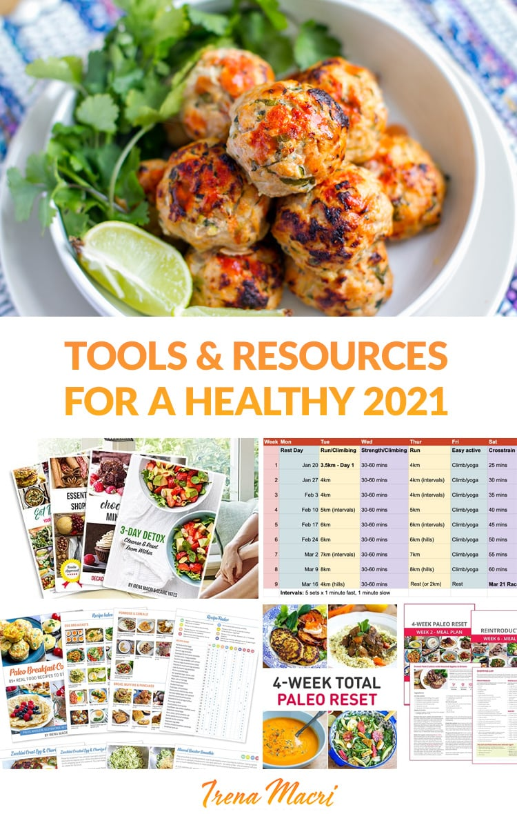 Tools & Resources For A Healthier 2021 (Meal Plans, Challenges, Guides & More)