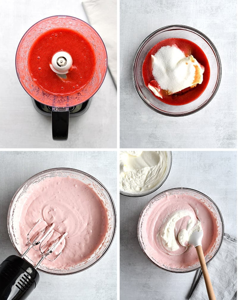 How to make strawberry cheesecake filling healthy