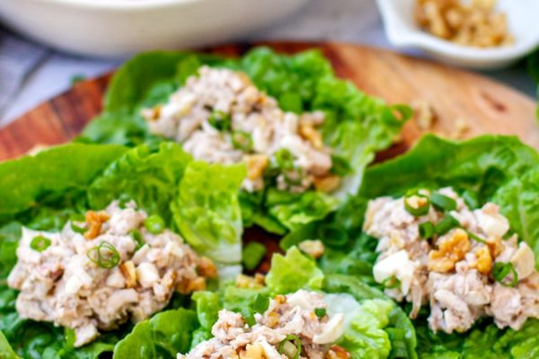 Creamy Chicken Salad With Lettuce Wraps