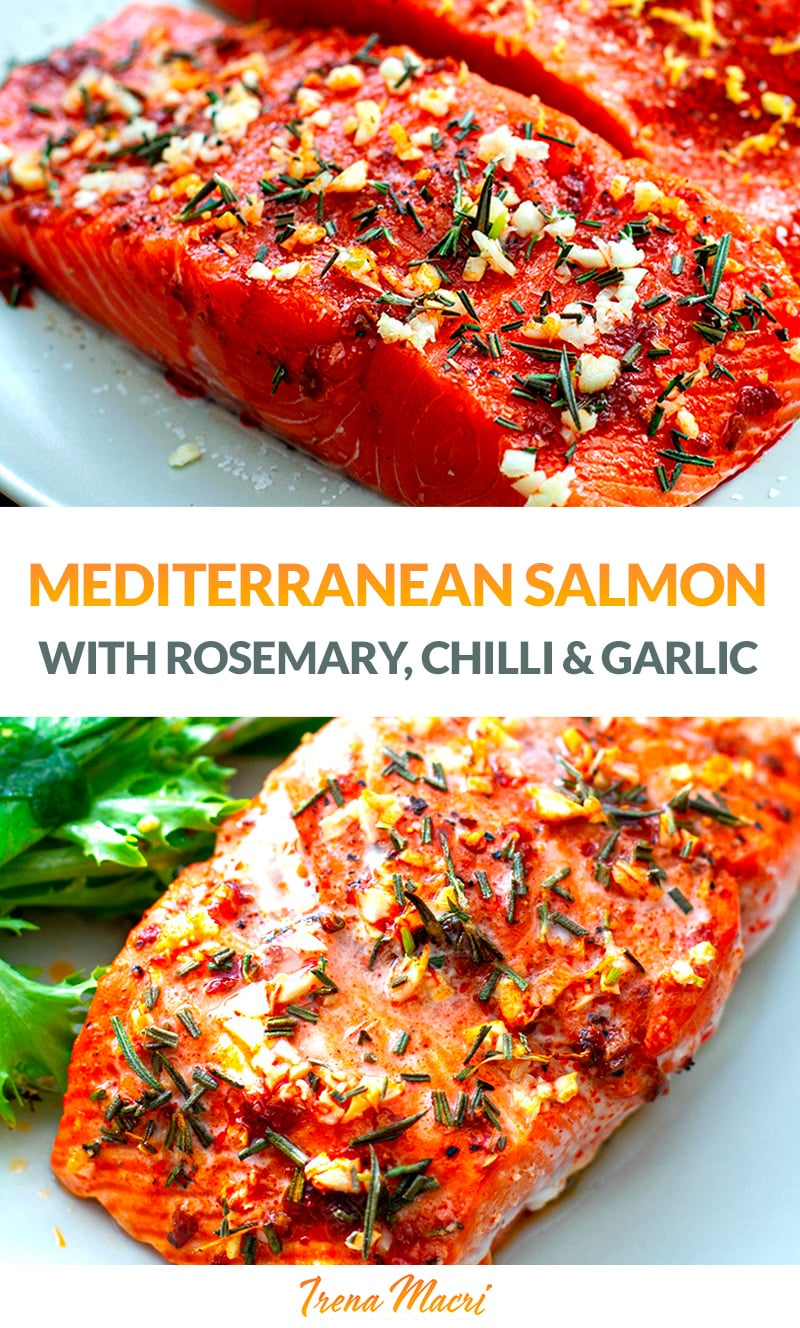 Mediterranean Baked Salmon Fillets In 30 Minutes