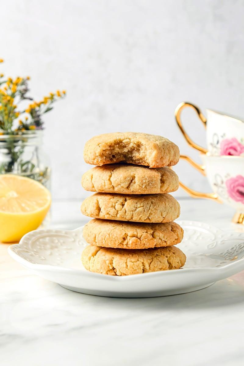 Healthy Lemon Cookies Keto & Grain-Free