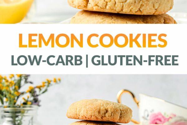 Lemon Shortbread Cookies (Low-Carb, Gluten-Free, Keto)