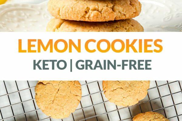Lemon Cookies (Keto, Grain-Free, Gluten-Free)