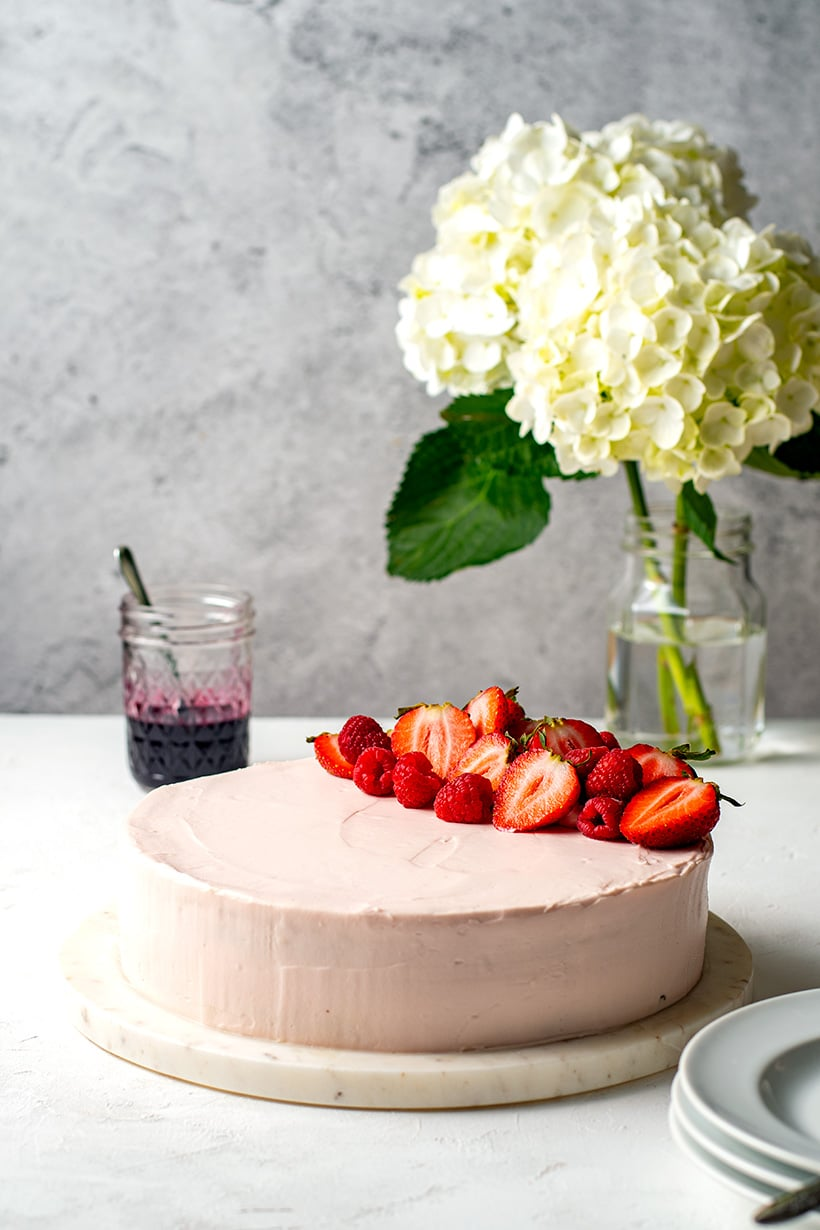 Low-Carb Red Velvet Cake With Beets (No Added Colours)