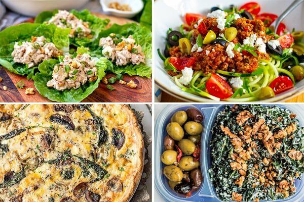 Low-Carb Meal Plan Ideas Week 1