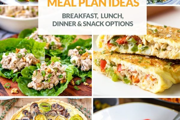 Meal Ideas For Low-Carb Menu Planning