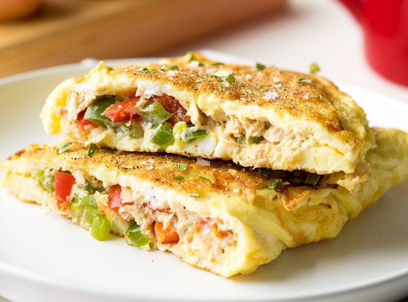 Tuna omelette