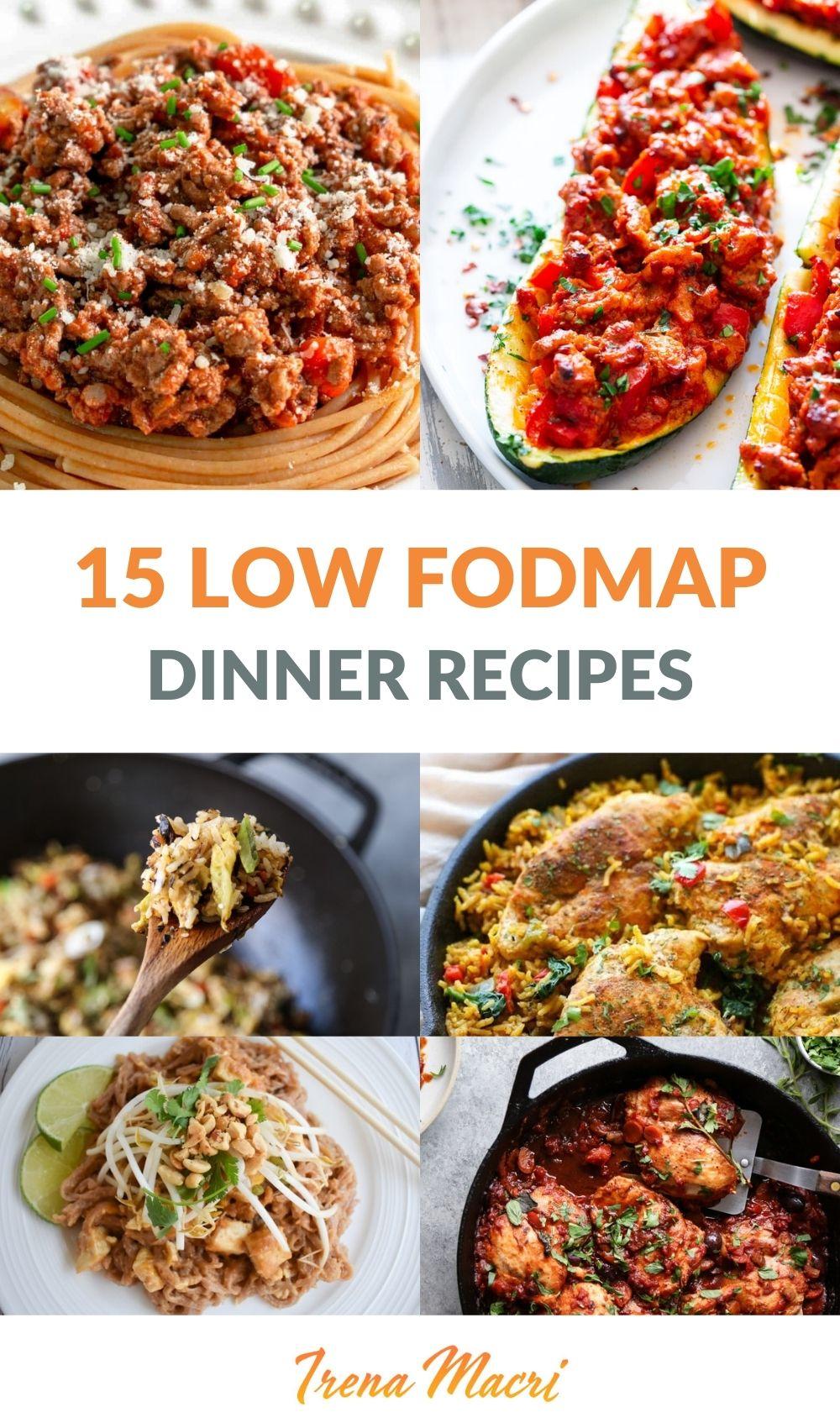Low Fodmap Dinner Recipes