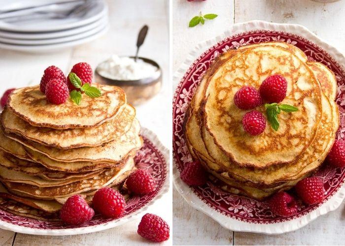 Almond Cream Cheese Keto Pancakes Recipe