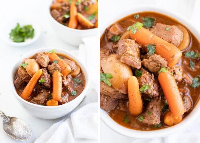 Low fodmap beef stew