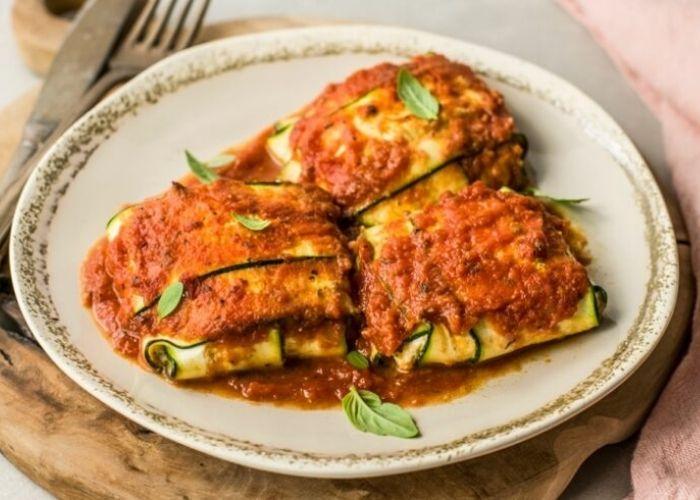 Easy Zucchini Ravioli