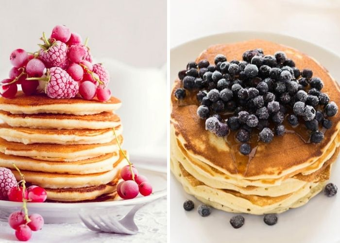 Fluffy Keto Pancakes With Coconut Flour and Cream Cheese Recipe