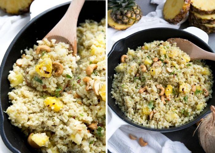 Pineapple Cauliflower Rice