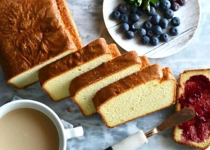 Keto Cream Cheese Pound Cake Recipe